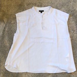 NWT Women's J. Crew Solid Cap Sleeve Woven Blouse